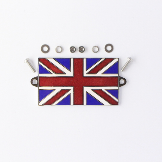 Enamel Union Jack flag