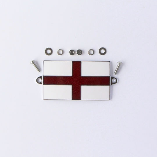 Enamel St. George flag