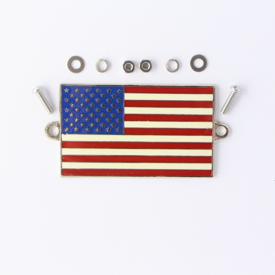 Enamel Stars and Stripes flag