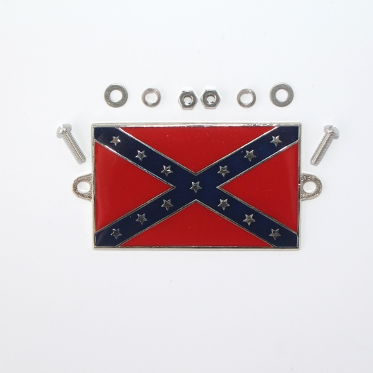 Enamel Confederate flag