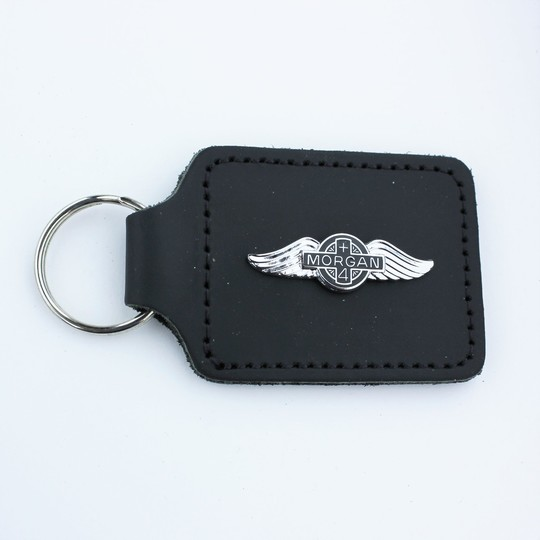 Leather key fob +4