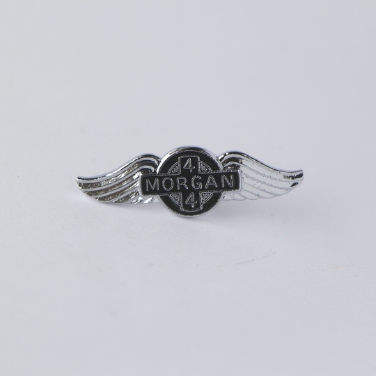 Small enamel Morgan wings pin badge 4/4