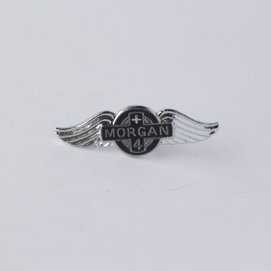 Small enamel Morgan wings pin badge +4