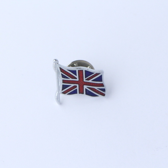 Union Jack pin badge - small flag