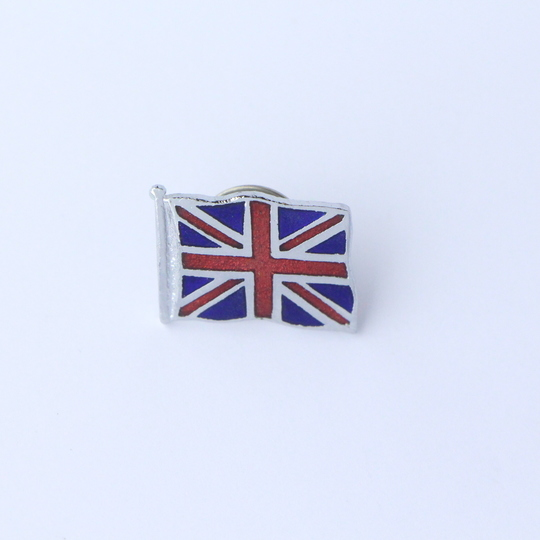 Union Jack pin badge - medium flag