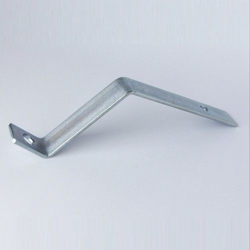 Front number plate bracket - steel, for alloy bumpers, late chrome bumpers  and stainless steel bumpers