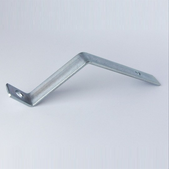 Front number plate bracket - steel, for alloy bumpers, late chrome bumpers...