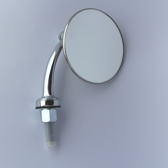 Tex wing mirror (round) with arm