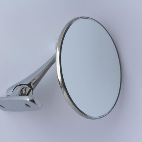 Door mirror - round (repro pre 1976 type)