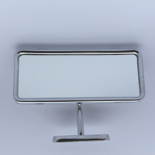 Interior mirror - plinth mounted (stainless steel back)