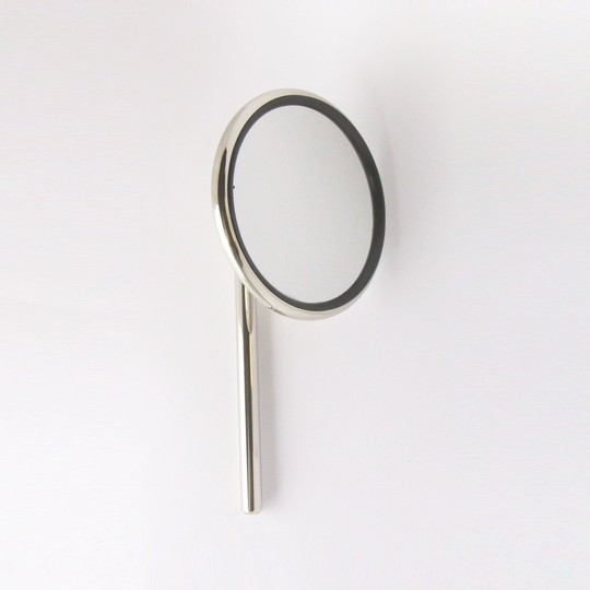 Round door mirror and arm to fit ACR016 mount (stainless steel)