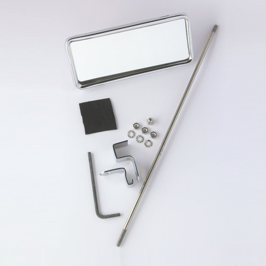 Interior mirror 2 seater to 6/1999 - rod mounted (chrome plated & stainless...