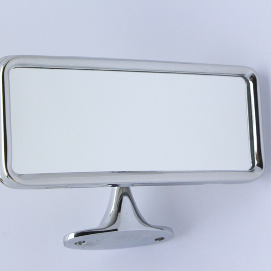 Interior mirror for dhc & cars without rubber crash pads