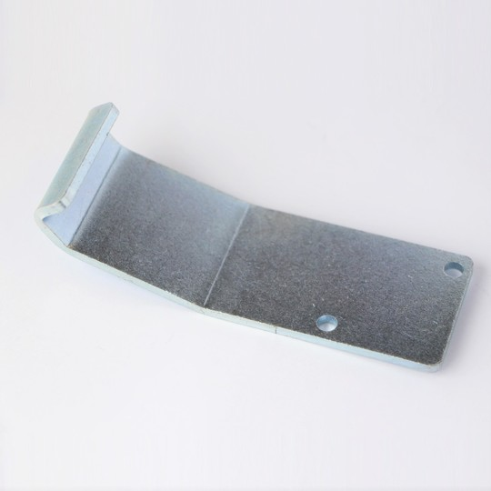 Front bonnet wing catch bracket for 2 seater - long