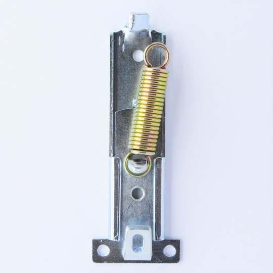 Inner bonnet catch bracket with slide & spring