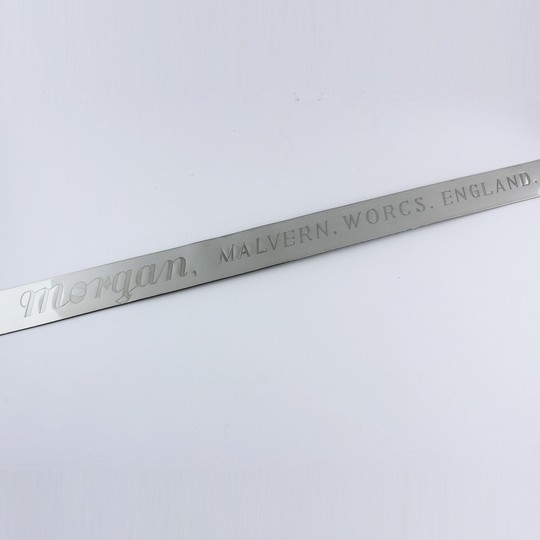 Door threshold plate - stainless steel