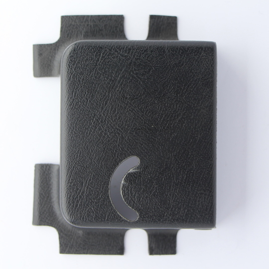 Black plastic cover for door lock BDM014 (left hand)