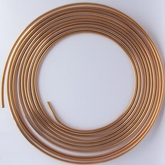 Copper brake pipe 3/16""