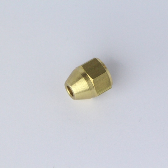 "Brass female nut 'unf' - use with 3/16"" o/d tube"