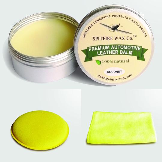 Spitfire Wax - premium automotive leather balm - Coconut