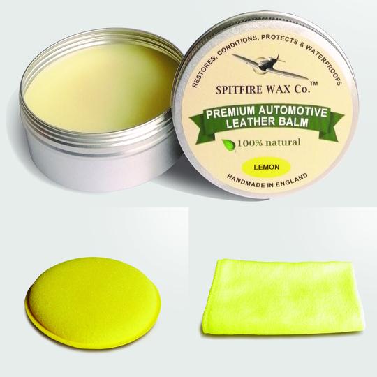 Spitfire Wax - premium automotive leather balm - Lemon