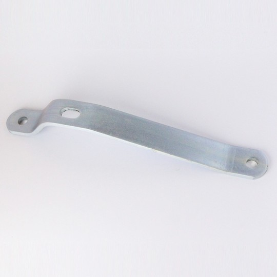 Rear bumper bracket 4/4 & +4 (zinc plated steel for old style chrome bumpers)