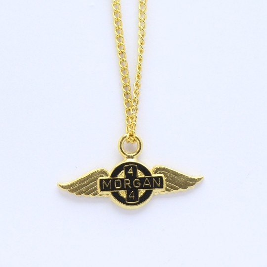 Morgan wings pendant on chain 4/4 - gold plated