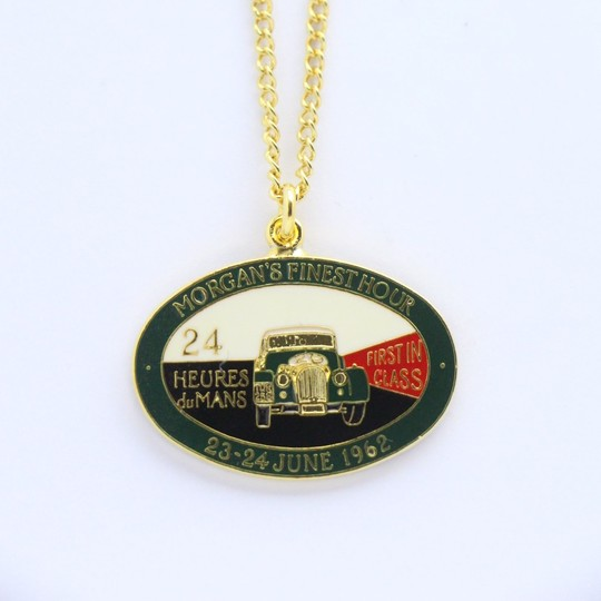 Finest Hour Le Mans pendant - gold plated