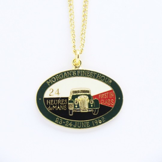 Finest Hour Le Mans pendant - gold plated