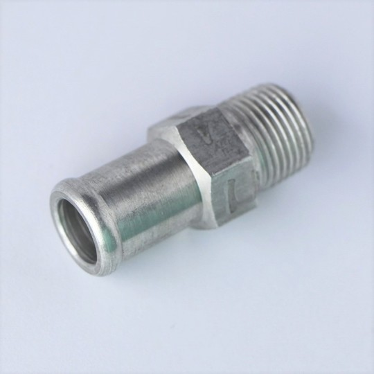 Water pump to heater outlet pipe (alloy) - 4/4 crossflow