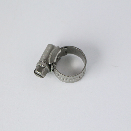 Stainless steel hose clip 16mm (MOO)