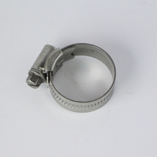 Stainless steel hose clip 27mm (1A)