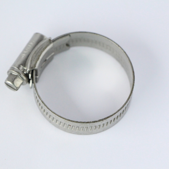 Stainless steel hose clip 44mm (1X)