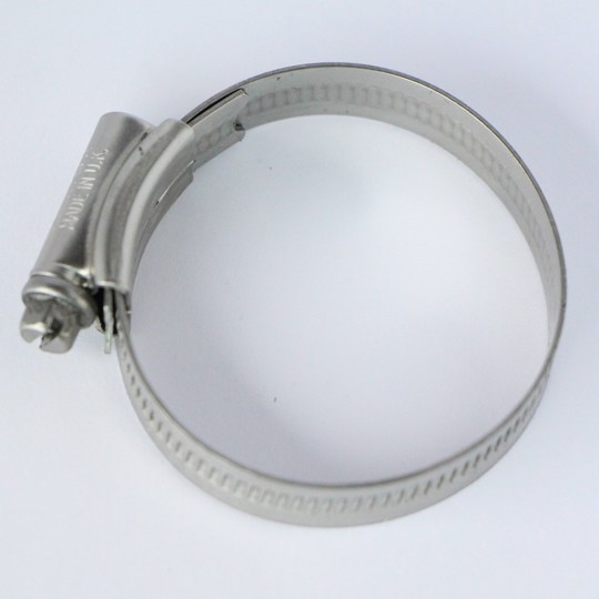Stainless steel hose clip 57mm (2)