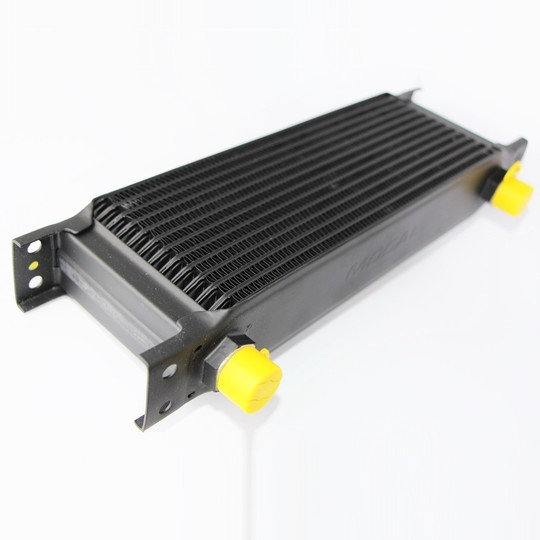 "Oil cooler radiator - 13 row (1/2"" bsp male connections)"