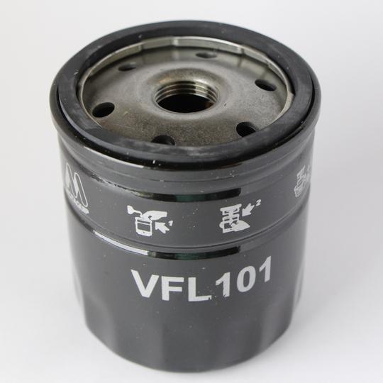 Oil filter element 4/4 crossflow