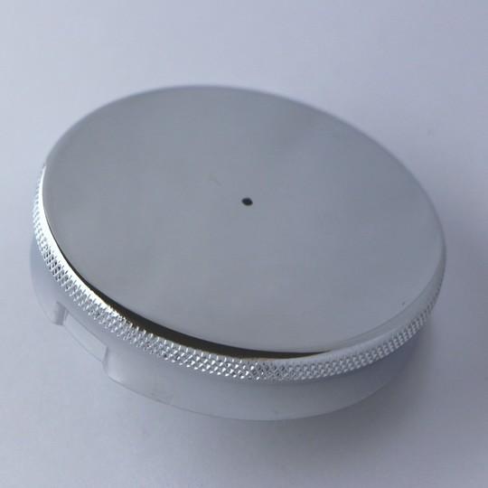 Round fuel cap