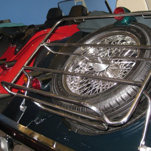 Stainless steel luggage rack 2 str 2/1998 on & mounting kit, with lockable...