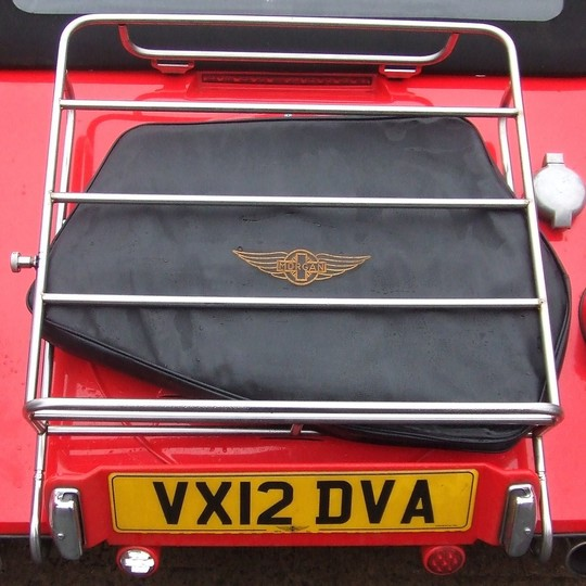 Luggage rack for +8 2012 on
