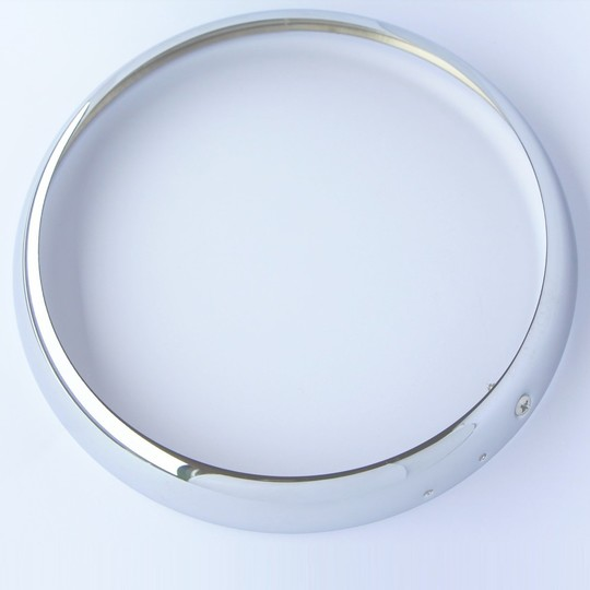 "Headlight rim - chrome 7"" (Lucas type)"