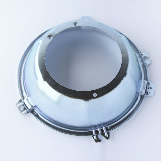 Headlamp seating rim between light unit & bucket - Lucas