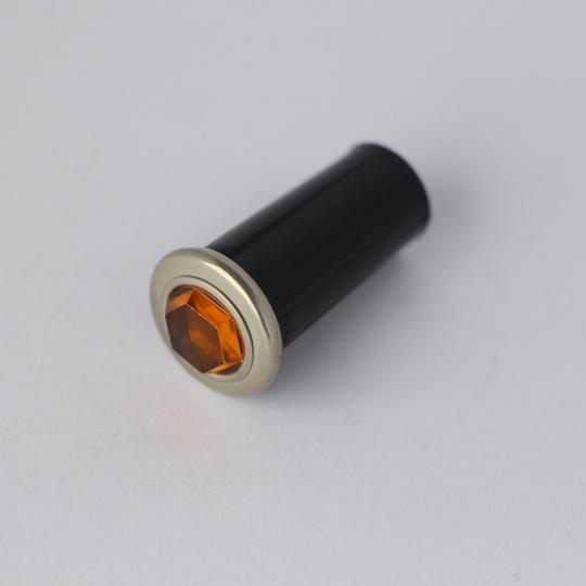 Main beam warning light pre 1968 - amber (jewel lens)