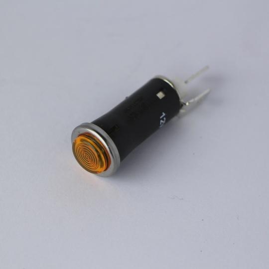 Warning light - amber (plain lens)