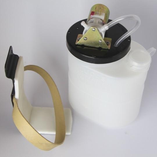 Washer bottle inc. pump motor & bracket pre 1988