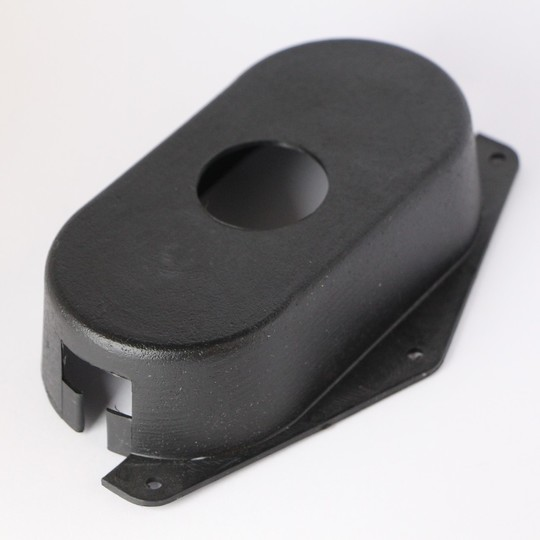 Steering column stalk switch cover 1977-6/97 (black plastic)