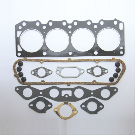 Gasket set; top end overhaul 4/4 crossflow