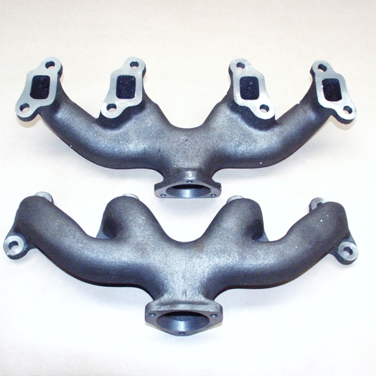 Cast iron manifold +8 4sp (new) image shows a pair - unit of measure is one...