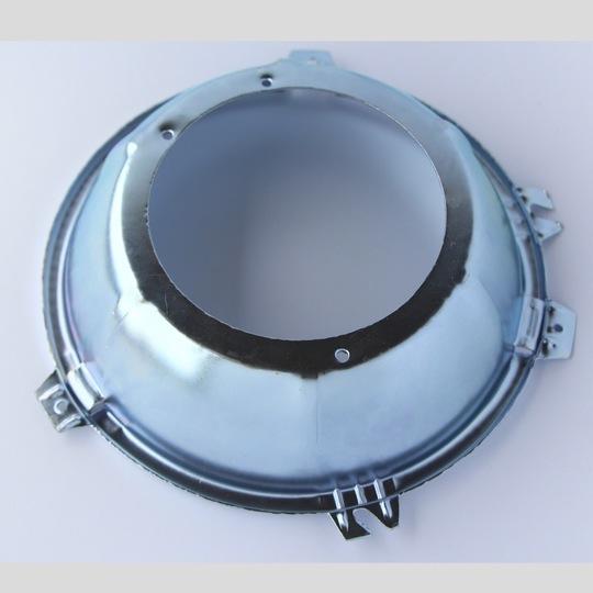 Headlamp seating rim between light unit & bucket - Lucas