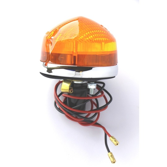Indicator lamp - large for 1968-2005 cars - pebble dash type lens complete...