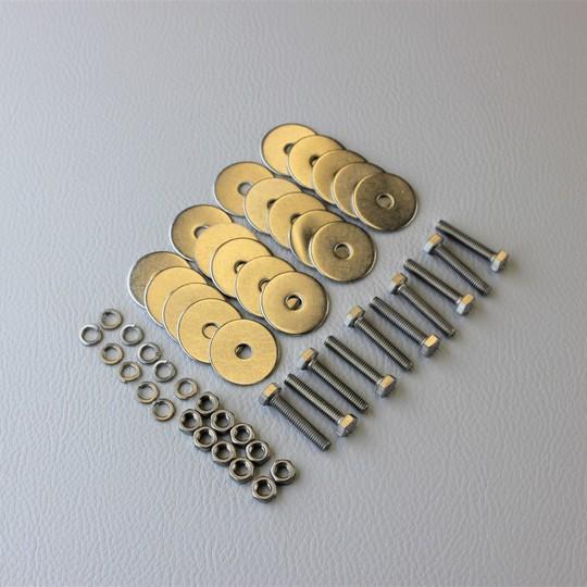Front cowl screw set s/s